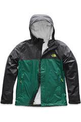 The North Face Negro / verde de Hombre modelo m venture 2 jacket Casacas Deportivo