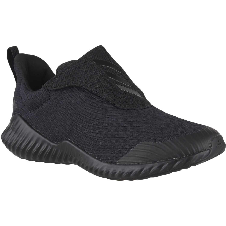 Zapatilla de Jovencito Adidas Negro fortarun ac k