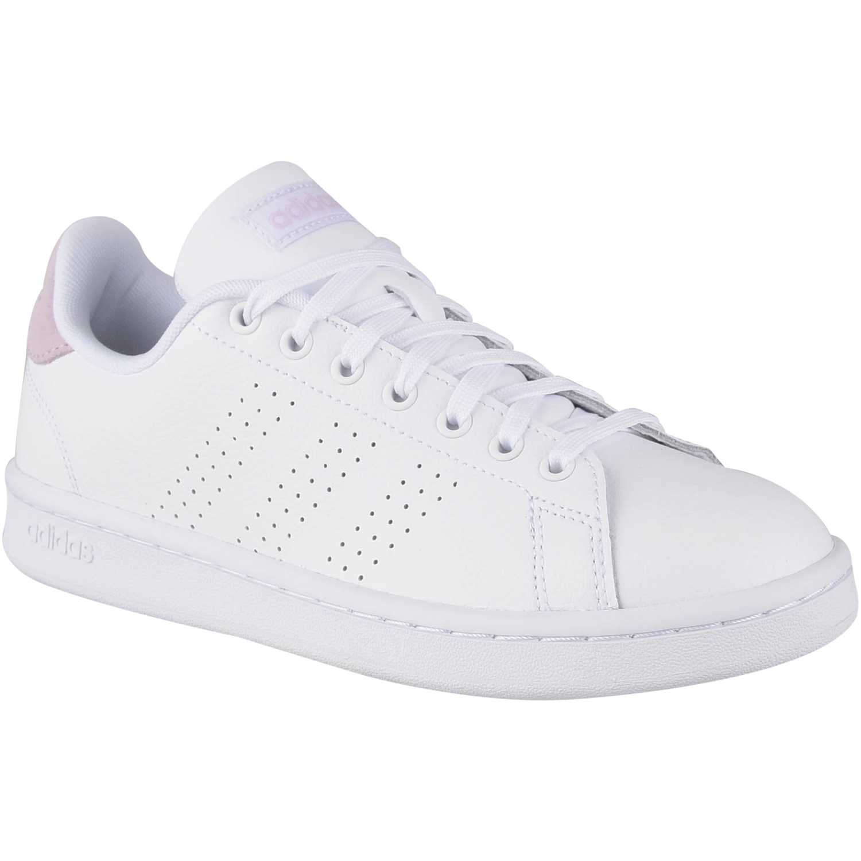 Zapatilla de Mujer Adidas Blanco / rosado advantage