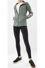 Buzo de Mujer Puma Verde / negro Graphic Legging Sweat Suit