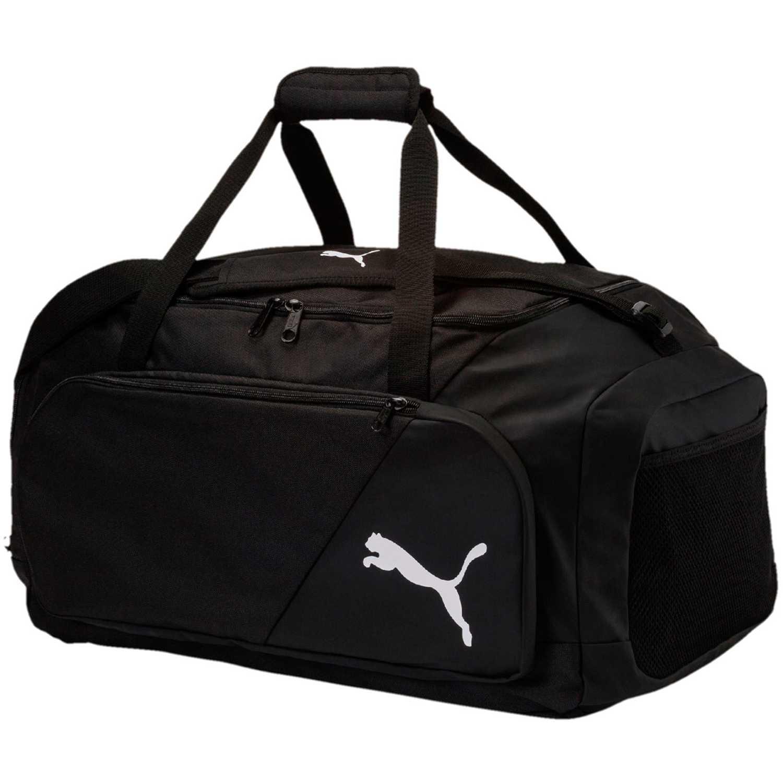 Maletin Deportivo de Hombre Puma Negro / blanco liga medium bag