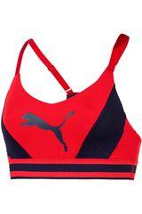 Puma Rojo / azul de Mujer modelo logo bra m Deportivo Tops