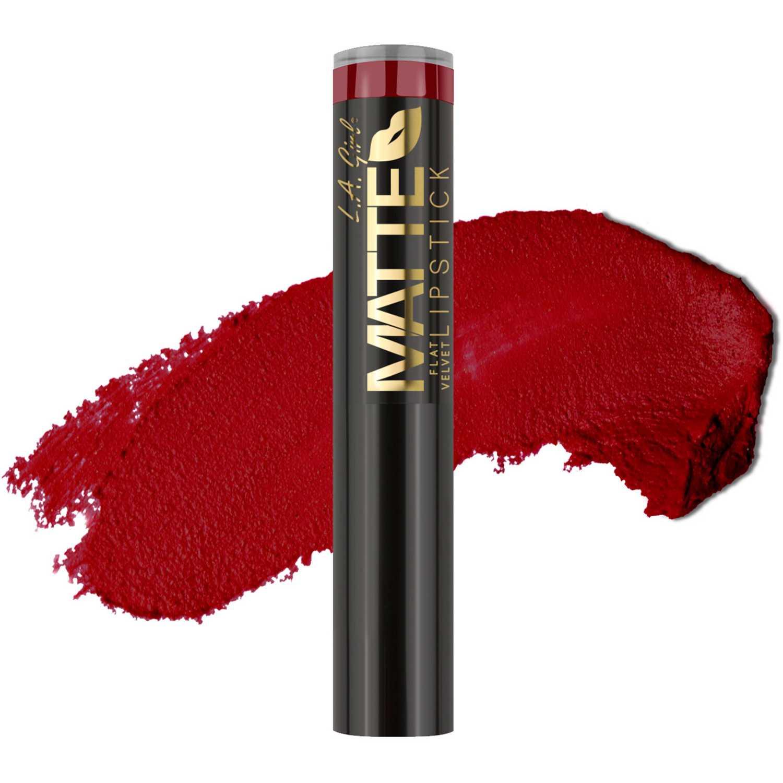 Lapiz Labial Barra de Mujer L.a. Girl Spicy matte flat velvet lipstick