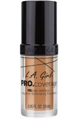 L.a. Girl Soft Honey de Mujer modelo pro coverage illuminating foundation Maquillaje Base líquida