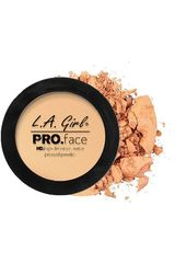 Polvo Compacto de Mujer L.a. Girlpro face matte pressed powder Creamy Natural