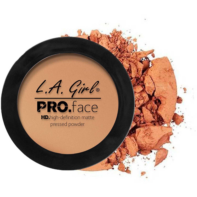 Polvo Compacto de Mujer L.a. Girl Warm Honey pro face matte pressed powder