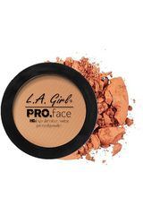 L.a. Girl Warm Honey de Mujer modelo pro face matte pressed powder Polvo compacto Maquillaje rostro