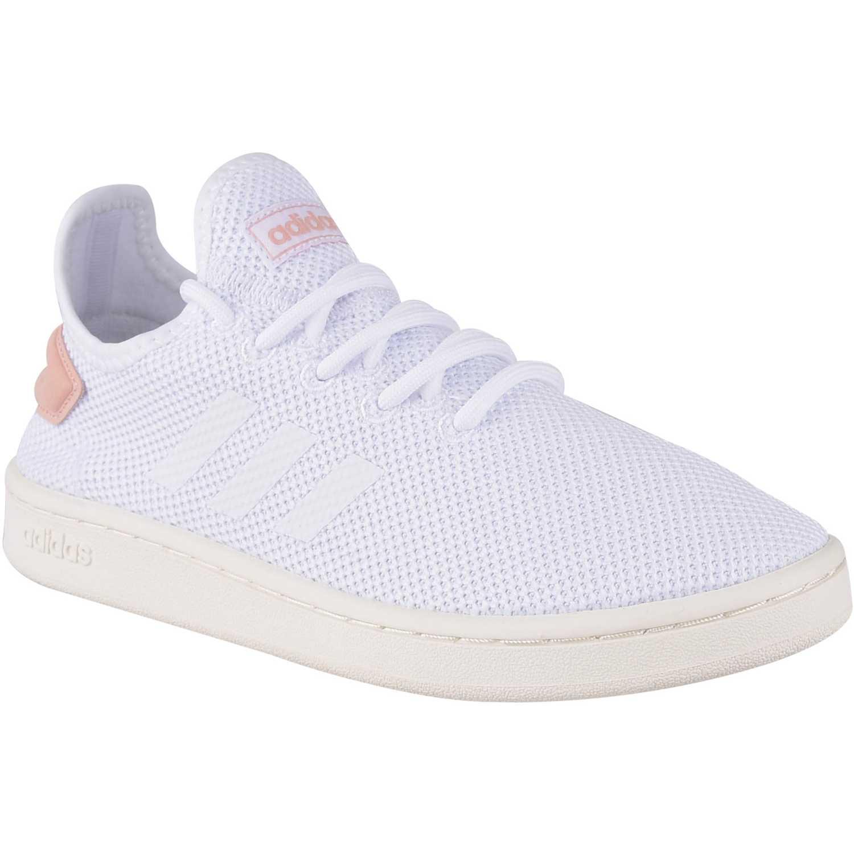 Zapatilla de Mujer Adidas Blanco / Melon court adapt
