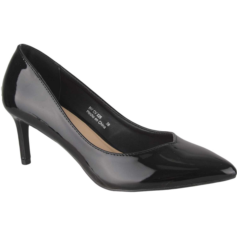 Calzado de Mujer Platanitos Negro cv x26