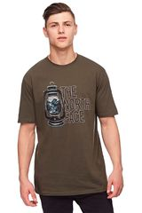 The North Face Verde de Hombre modelo m s/s essentials tee Casual Polos
