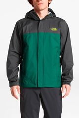 Casaca de Hombre The North Face Negro / verde m venture 2 jacket
