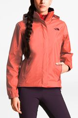 The North Face Rojo de Mujer modelo w resolve 2 jacket Casacas Deportivo