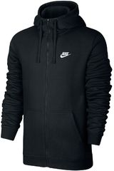 Nike Negro / blanco de Hombre modelo m nsw club hoodie fz bb Casacas Deportivo