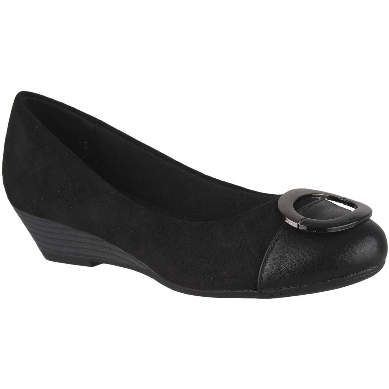 Calzado de Mujer Platanitos Negro cw 9259