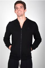 Rising Dragon Negro de Hombre modelo casaca hombre franela Deportivo Casacas