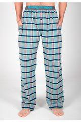 Rising Dragon Verde/azul de Hombre modelo pantalón pj franela Ropa Interior Y Pijamas Pijamas Lencería