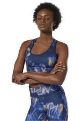 Reebok Azul / naranja de Mujer modelo re hero racer bra p2 Deportivo Tops