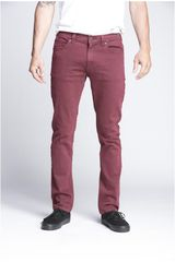 Lee Vino de Hombre modelo macky color Pantalones Jeans Casual