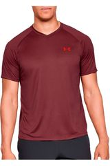 Polo de Hombre Under Armour Rojo ua tech 2.0 v-neck
