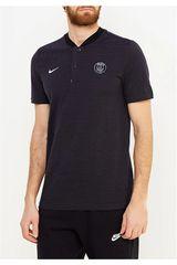 Nike Negro / plomo de Hombre modelo psg m nsw modern gsp aut Deportivo Polos