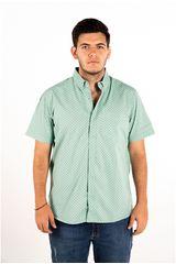 Ritzy Of Italy Verde Claro de Hombre modelo camisa Camisas Casual