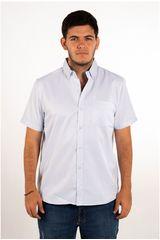 Ritzy Of Italy Celeste Claro de Hombre modelo camisa Camisas Casual