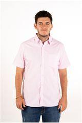 Ritzy Of Italy Rosado de Hombre modelo camisa Camisas Casual