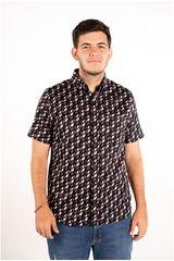 Ritzy Of Italy Morado de Hombre modelo camisa Casual Camisas