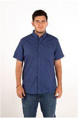 Ritzy Of Italy Lila de Hombre modelo camisa Casual Camisas