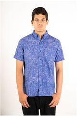 Ritzy Of Italy Azulino de Hombre modelo camisa Casual Camisas