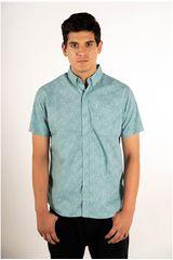 Ritzy Of Italy Verde de Hombre modelo camisa Casual Camisas