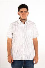 Ritzy Of Italy Blanco de Hombre modelo camisa Casual Camisas