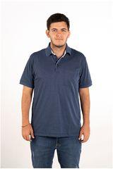 Ritzy Of Italy Azul de Hombre modelo polo Polos Casual