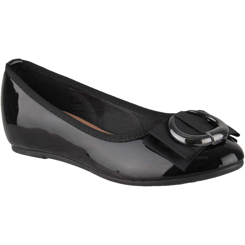 Ballerina de Mujer Platanitos Negro cw 6820