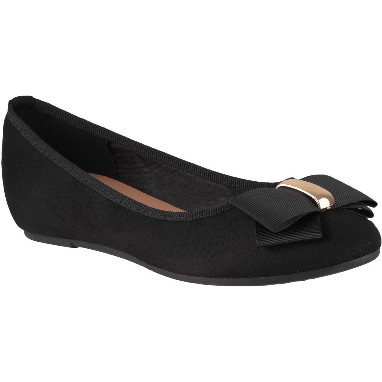 Ballerina de Mujer Platanitos Negro cw 6825