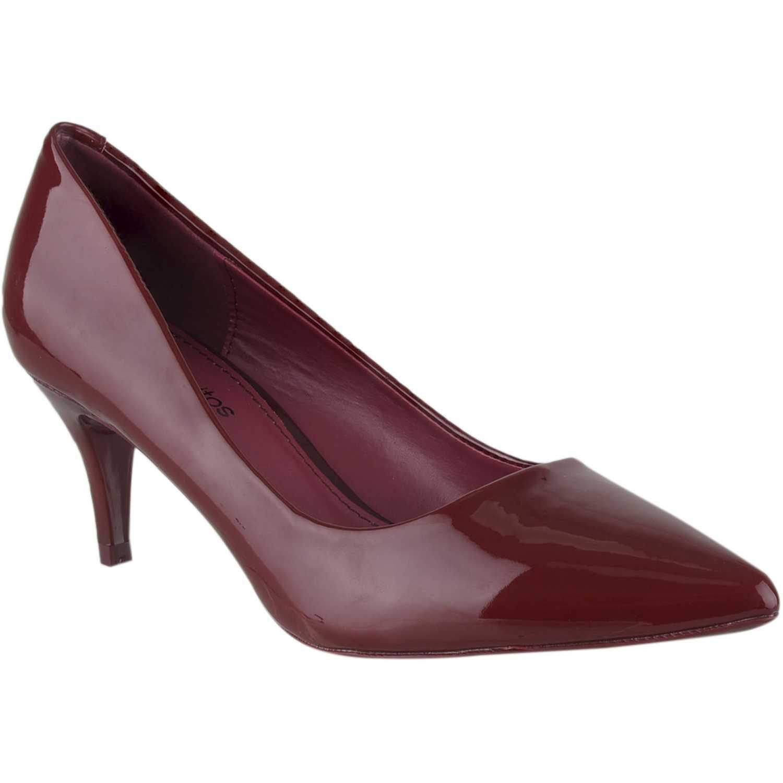 Calzado de Mujer Platanitos Guinda cv 5251