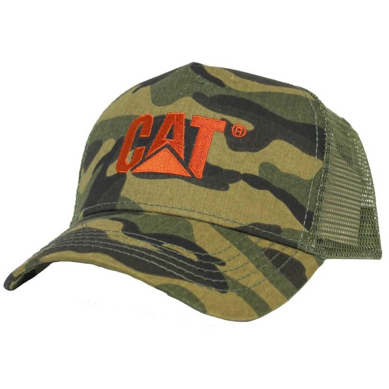 Gorro de Hombre CAT Militar design mark mesh hat