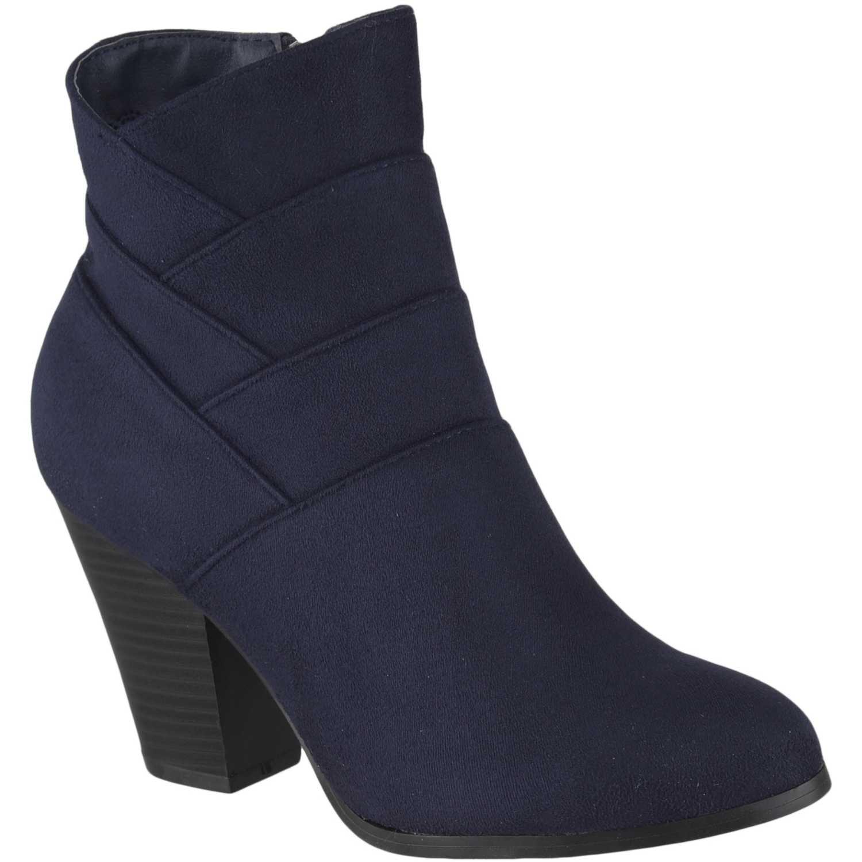 Botín de Mujer Platanitos Azul bt danielle55