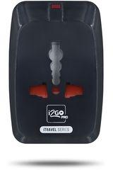 Adaptador universal de  I2go Pro Negro adaptador universal con 1 puerto usb negro