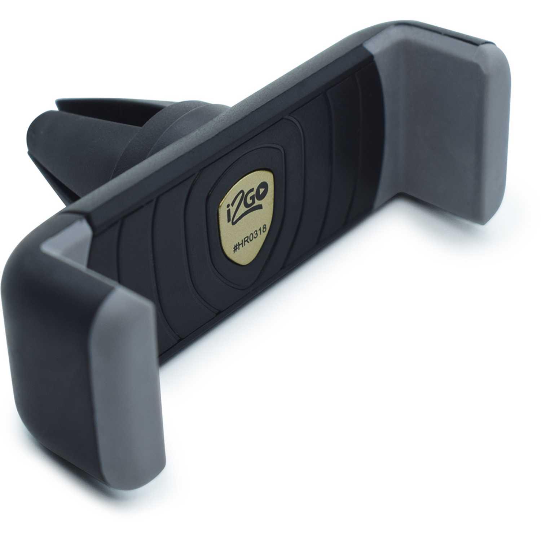 Soporte de celular para auto  I2go Negro soporte de celular para el auto