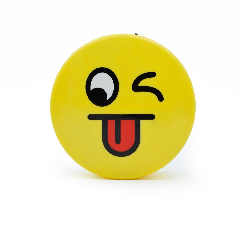 Parlante bluetooth  Fugu Amarillo parlante  bluetooth de emoji