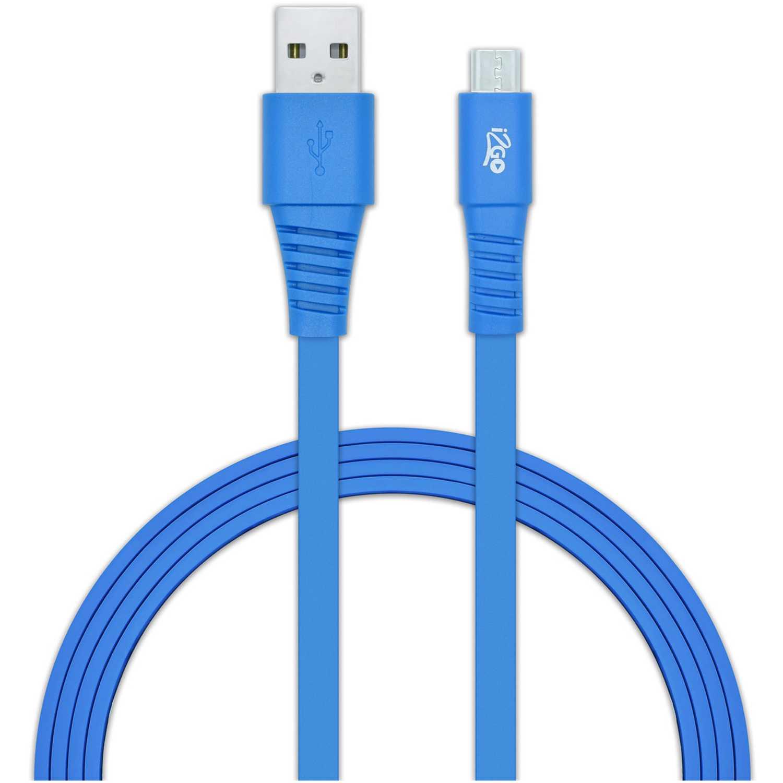 Cable usb  I2go Azul cable usb 2.0 micro usbazul