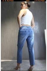 CUSTER Stone de Mujer modelo mom w Casual Pantalones Jeans