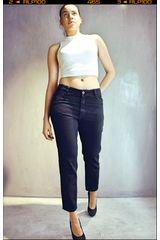 CUSTER Negro de Mujer modelo mom w Casual Pantalones Jeans