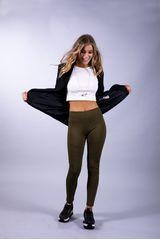 Pantalonia Verde de Mujer modelo leg mujer parche venas w16 Pantalones Leggins Pantalonetas Casual