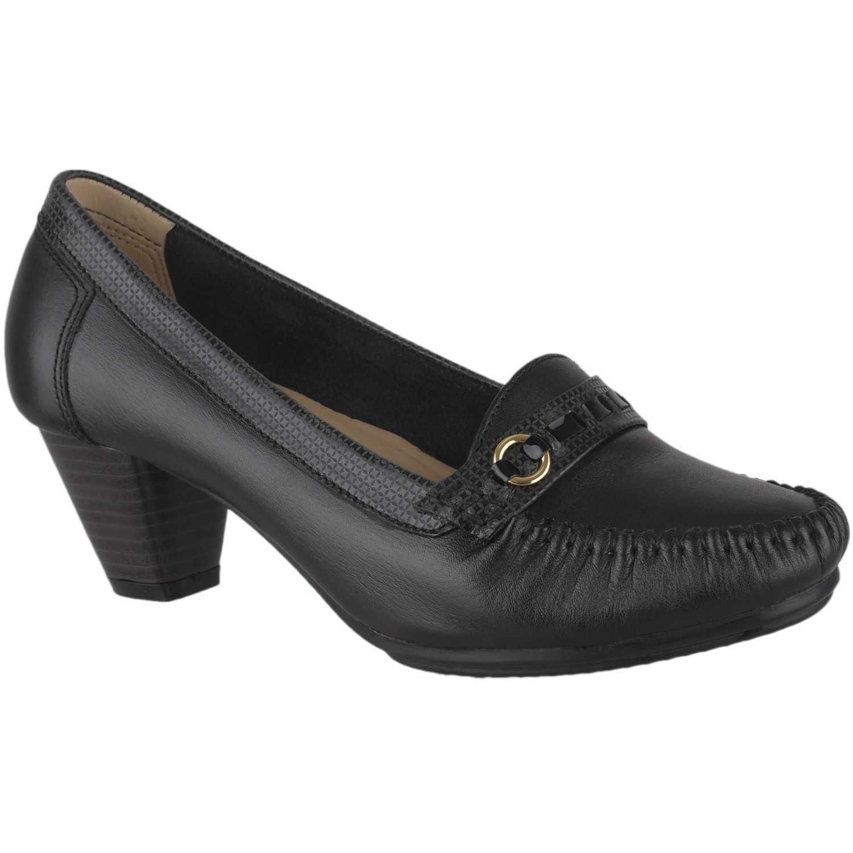 Calzado de Mujer Limoni - Cuero Negro cv regi04