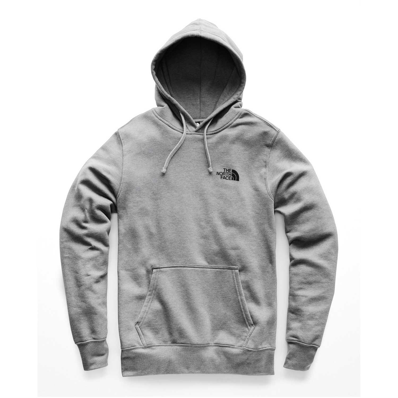 Polera de Hombre The North Face Gris / plomo m red box pullover hoodie