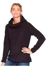 The North Face Negro de Mujer modelo w glacier alpine pullover hoodie Deportivo Poleras