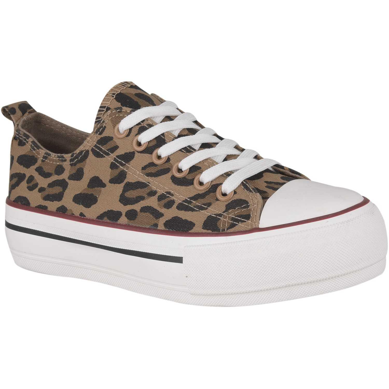 Zapatilla de Mujer Just4u Leopardo zc 2425