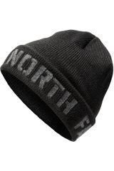 The North Face Negro de Hombre modelo tnf felted logo beanie Beanie Chullos